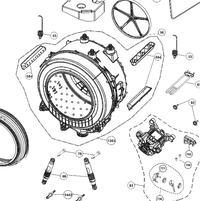 pralka Beko WMD 25105 T - wyciek wody/rdzy oraz dziura w b�bnie