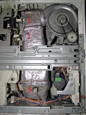 Pralko-suszarka Electrolux EW1289W - Błąd E73?