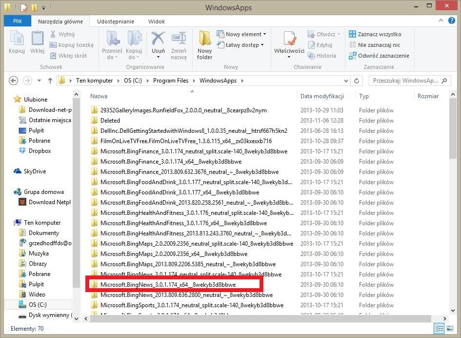 Usuwanie reklam z aplikacji Sklepu w Windows 8 / 8.1 - miniFAQ
