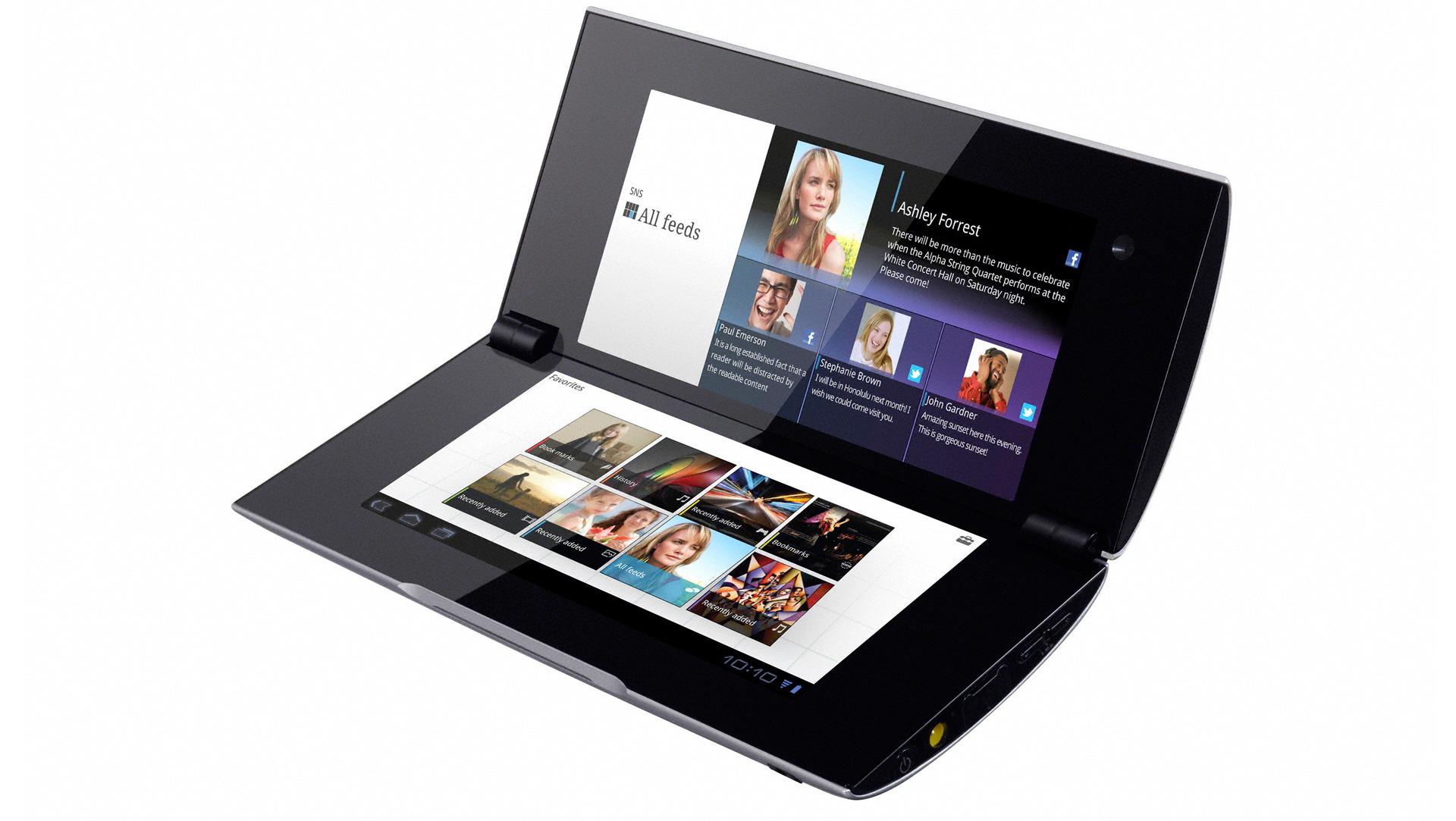 Sony Tablet P - dwuekranowy tablet z HSPA+ w ofercie AT&T