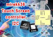 AVR - Panel dotykowy - stmpe811 - I2C