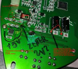 ZICO Simpli licznik - usterka na PCB licznika
