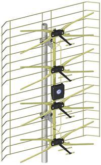 UHF/VHF - antena szerokopasmowa