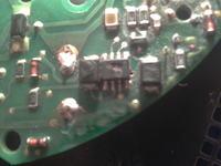 wentylator kotła wolf - Uszkodzony układ scalony płytki sterującej wentylatora