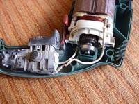 Wiertarka Bosch PSB 500 RE podłączenie szczotek