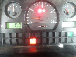 Masey Ferguson 8220 Dynashift - palący się wykrzyknik i brak auto zmiany połówek