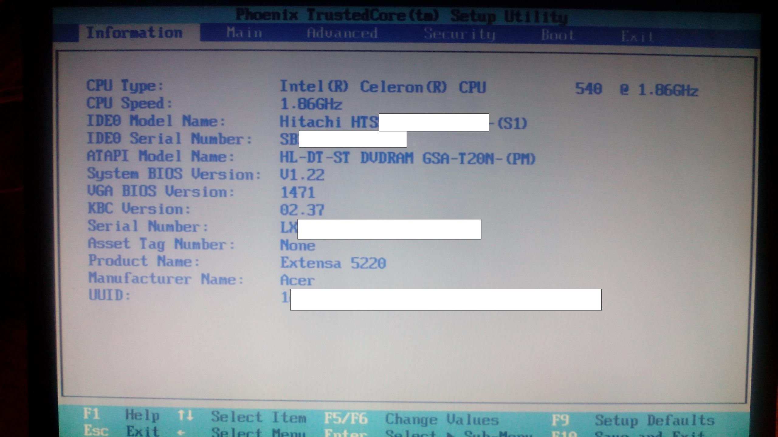 Podkr�cenie procesora intel celeron w laptopie?