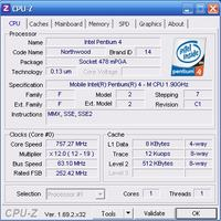 IBM T30 obniżona prędkość procesora