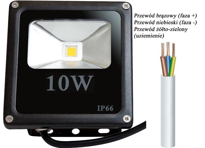 Aktualne Naświetlacz LED podłączenie - elektroda.pl TP68