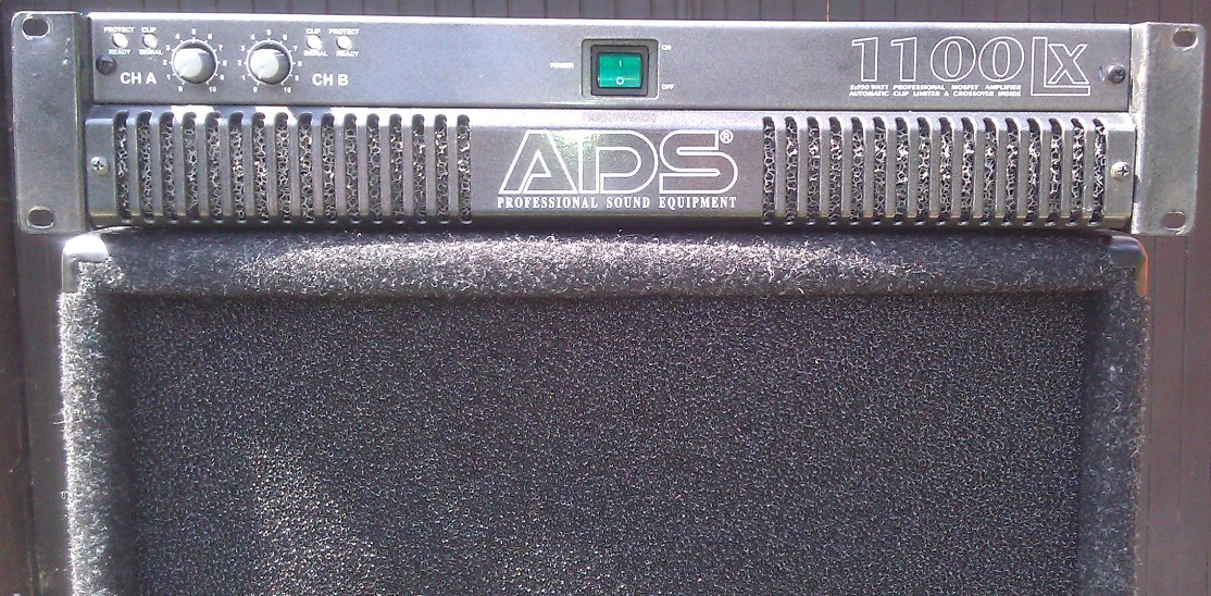 [Sprzedam] Ko�c�wka mocy ADS LX 1100 2x550w w okazyjnej cenie