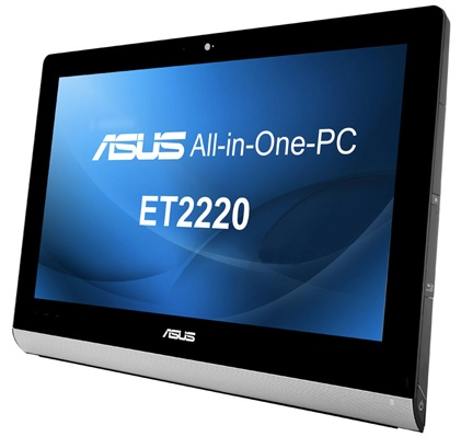 Asus ET2220 - All-in-one PC z multidotykiem dla 10 punktów