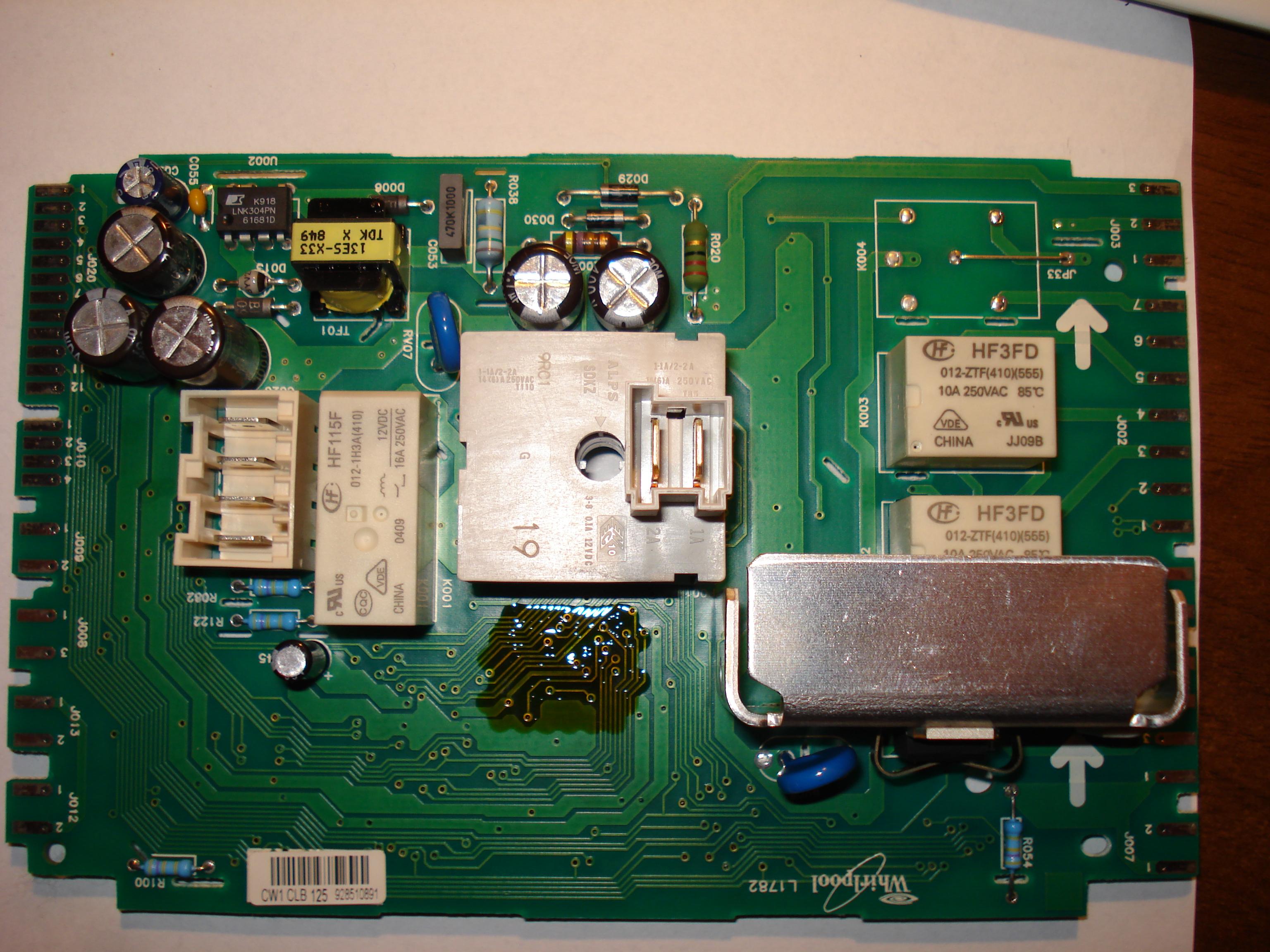 Whirlpool AWO/D4320/P przeci�ga program w czasie, nie wiruje.