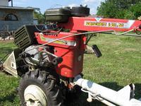 Traktorek Fortschritt z silnikiem Simson S51 - zatkany tłumik
