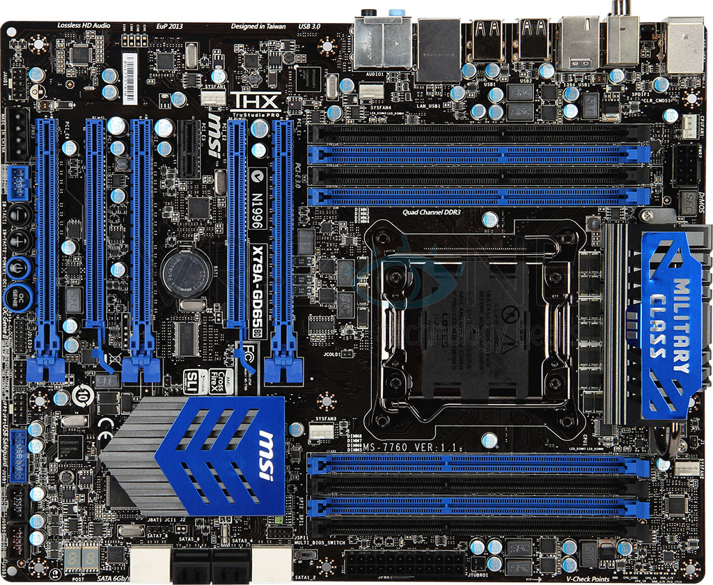 P�yta g��wna MSI X79A-GD65 z LGA2011 w zestawie z Thermaltake Frio Advanced