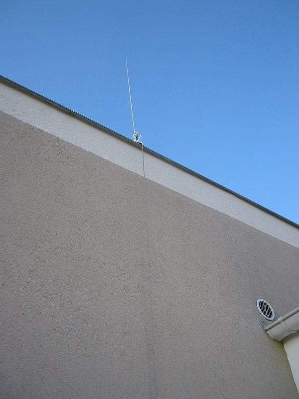 Antena mobilowa - uziemienie mobila na dachu