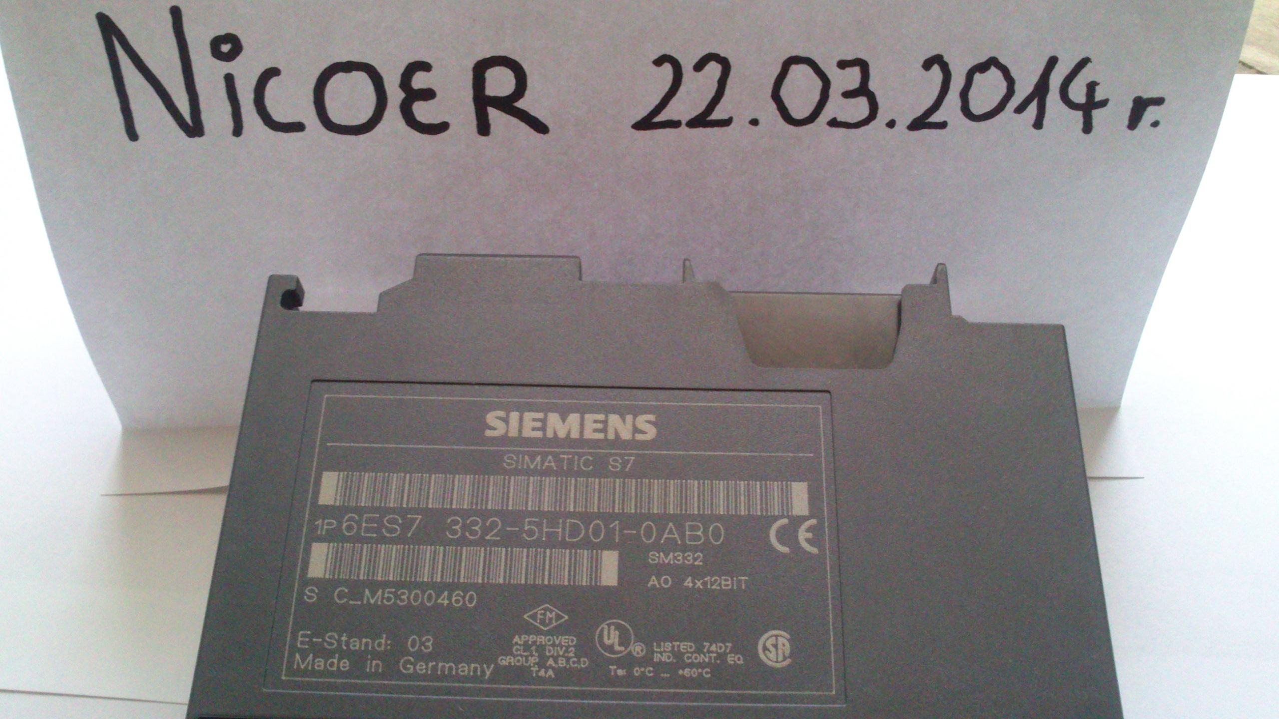 [Sprzedam] Siemens Simatic s7 Sterowniki PLC