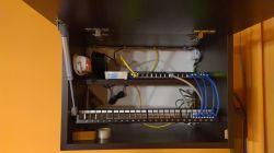 Rozbudowa sieci domowej, router, switch, instalacja