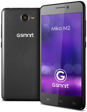 "Gigabyte GSmart Mika M2 -niedrogi smartphone z 5"" ekranem i aparatem 13Mpix"