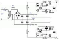 Stabilizator symetryczny 30V - przeróbka schematu