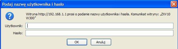 Problem z konfiguracj� routera