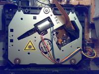 Pioneer PD-S801 - dziwny zgrzyt, przestał czytać płyty