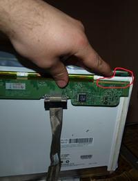 laptop HP compaq presario v5000 uszkodzona matryca