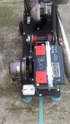 Budowa agregatu prądotworczego z silnika WSK 125