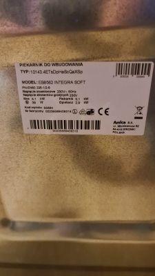 Piekarnik Amica EB8562 - nie działa dotyk i ogólnie funkcje.