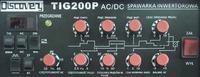 Sherman TIG 200P AC/DC - ustawienia