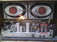 Loewe Opta Apollo Stereo - Przegrzewające się lampy EL84
