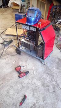 Migomat DIY 400A na podstawie starego Ozasa