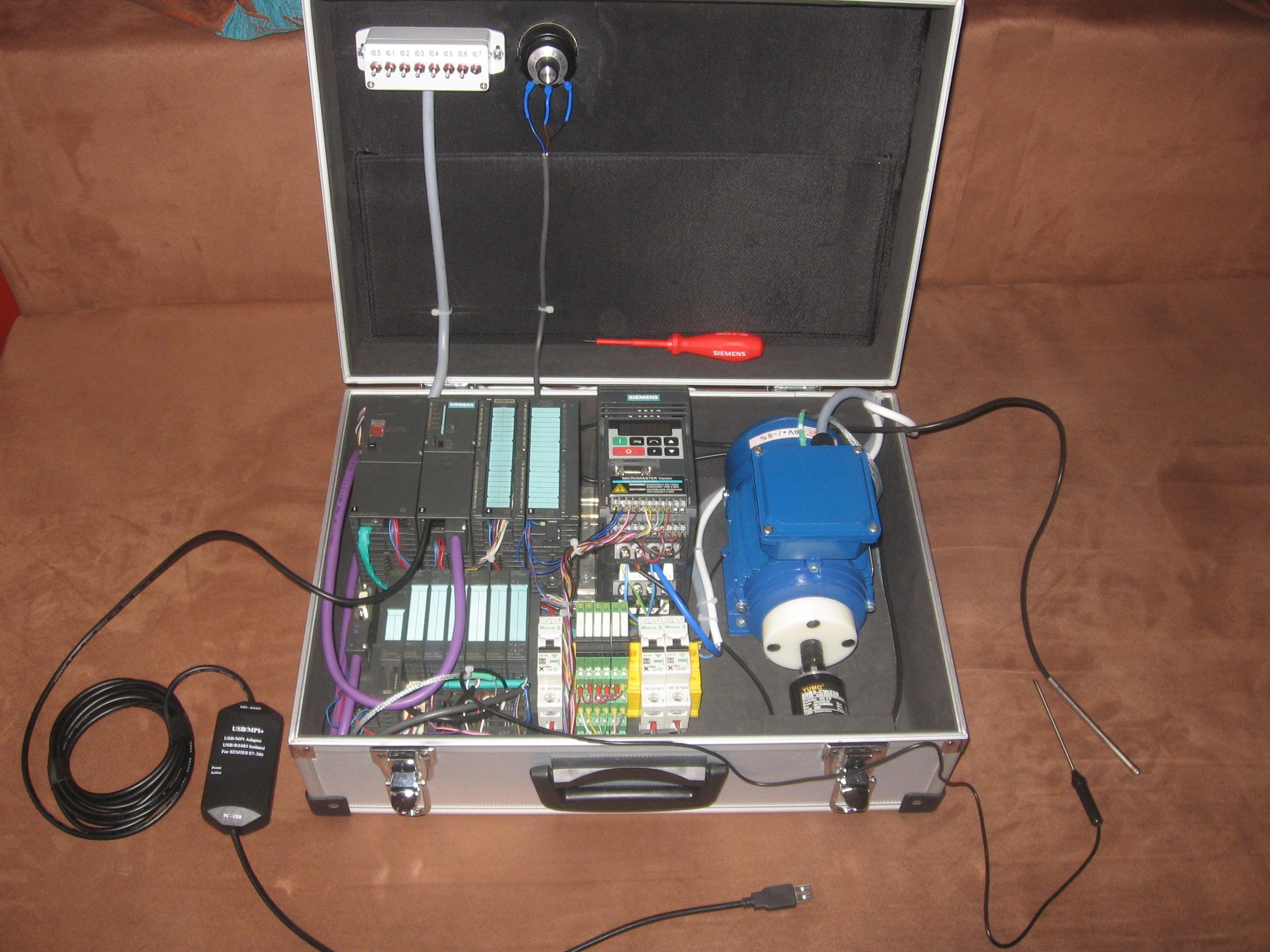 Siemens simatic S7 zestaw edukacyjny