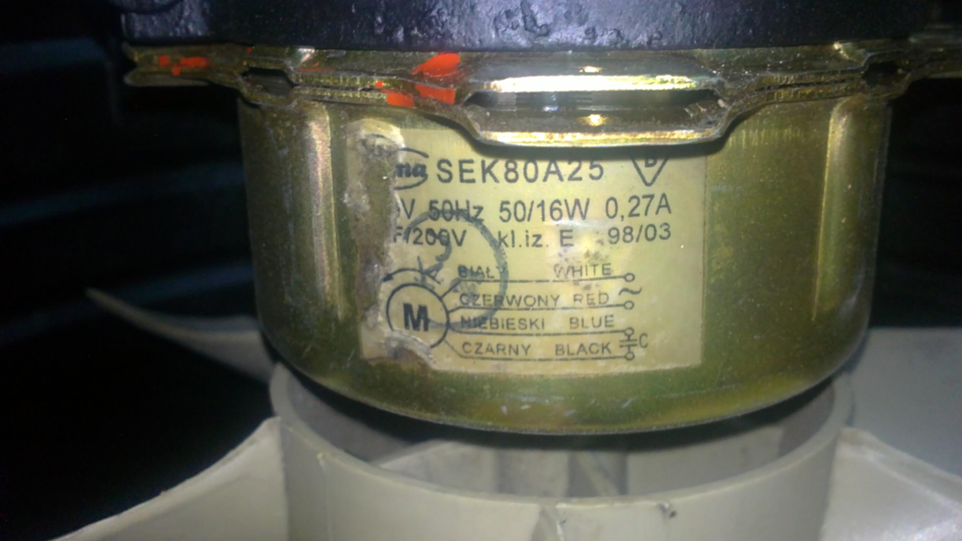 wentylator 220V - zmniejszenie obrot�w