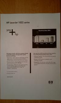 HP LaserJet 1022 - Drukuje kilka razy to samo na jednej stronie