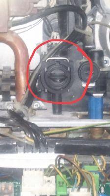 Piec gazowy Ariston Clas 24 CF - brak ciepłej wody