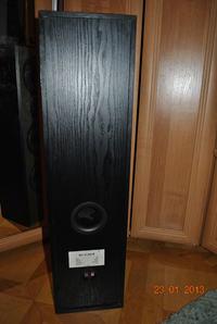 Schemat połączenia głośników w kolumnie Eltax NSV CT - 300 W
