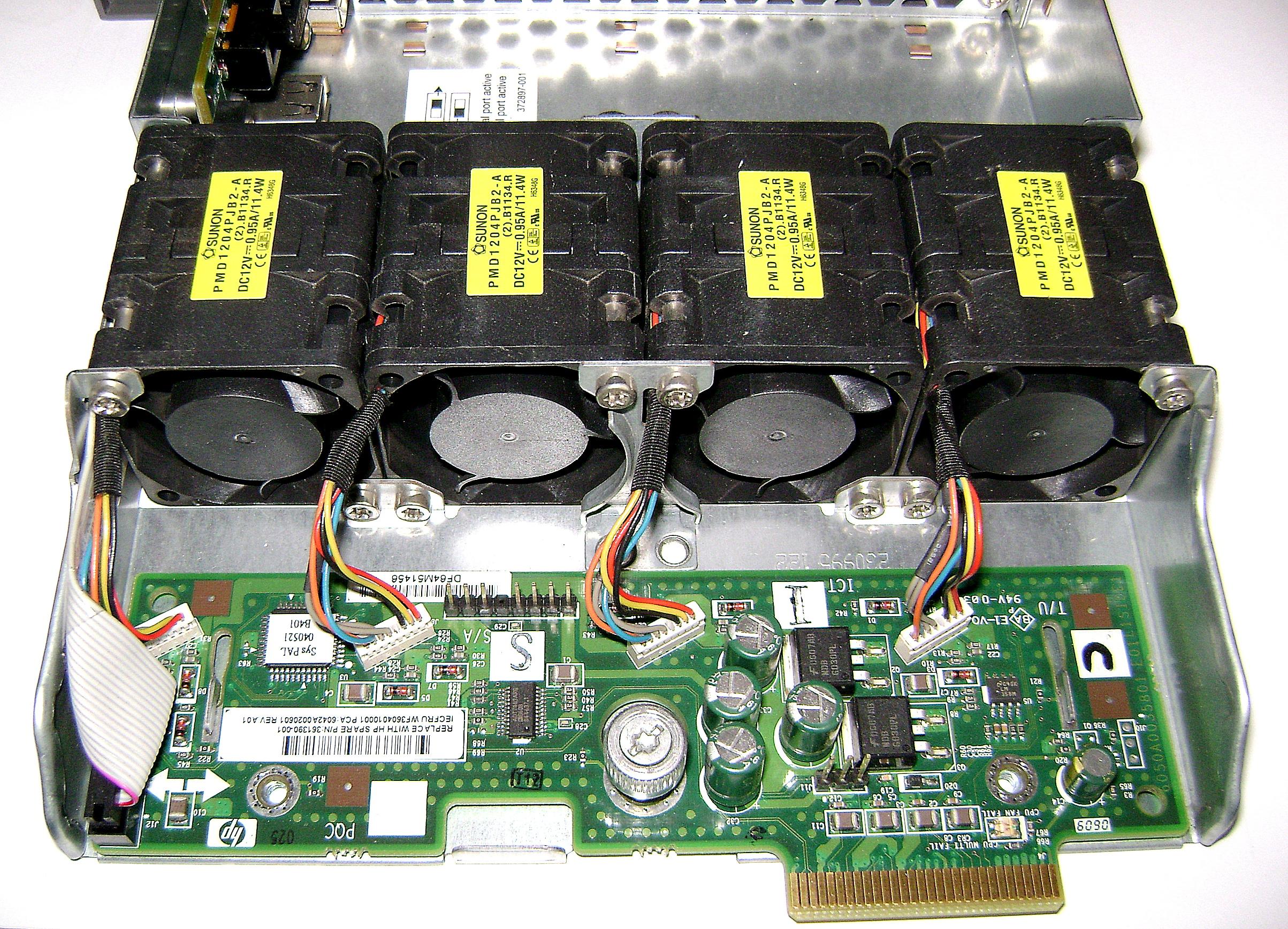 [Sprzedam] Compaq HP DL360 G4 Wentylator 361390-001