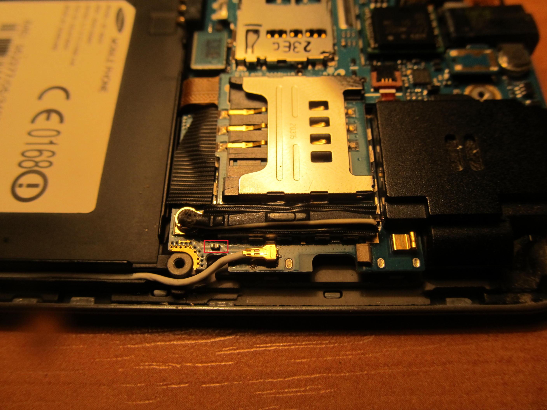 Samsung i9001/i9000 - Antena zewn�trzna