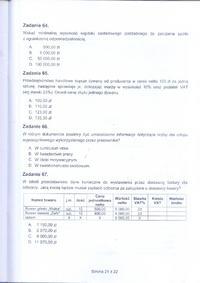 Egzamin Zawodowy 2011 - Kucharz małej gastronomii