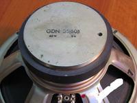Altus 110 wymiana głośnika GDN na nowy 40 na 60W ?