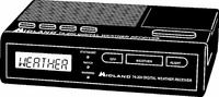 Midland 74-200 VHF Digital Weather Alert Radio Manual EN