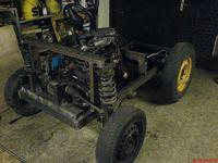 Mój pierwszy prototyp ciągniczka .