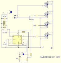 regulator PWM do silnika PMDC - strzelający kondensator