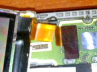 Nokia N80 przerwana taśma łącząca wyświetlacz z płytą