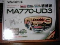 GIGABYTE MA770-UD3 + AMD SEMPRON X2 2100