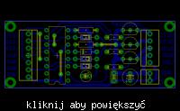 Selektor wejść CMOS CD4042. Projekt.
