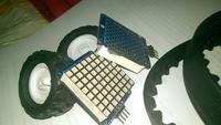 [Sprzedam] Matryce LED, silniki, mostki H oraz części mechaniczne do robota