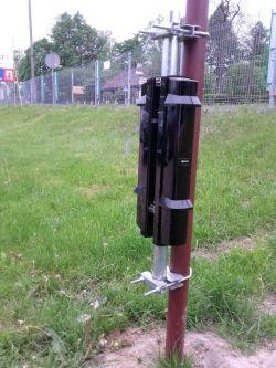 Bariery OPTEX - plac fałszywe alarmy