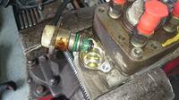 VW Passat 1,9 TDI AHU - Wyciek ropy z pod pompy wtryskowej