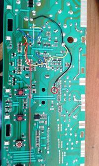Pralka Amica PA5580A510, sterownik CIA0031L - Identyfikacja elementu SMD na PCB